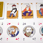 "Coeur ""750th Anniversary Berlin Commemorative"" Playing Cards, Manfred Bofinger Designs, c."