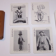 """Van Genechten """"Joyaux de Belgique"""" (""""Jewels of Belgium"""") Souvenir Playing Cards, c.195"""