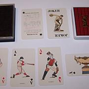 "Nintendo ""Mizuno"" Playing Cards, c.1974"