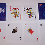 """""""Nabisco Thing"""" Playing Cards, Maker Unknown, c.1996"""