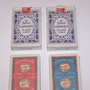 """Twin Decks Waddington """"Manchester Liners"""" Maritime Playing Cards, c.1955 ($15/ea. separate"""
