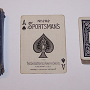 "USPC ""Aberdeen Steamers"" Maritime Playing Cards (52/52, NJ), Sportsman's 202 Brand, Geo."