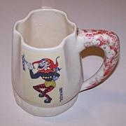 """Palm Springs Ceramics """"Canasta Mug,"""" c.1950"""