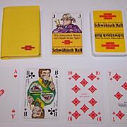 """ASS """"Schwäbisch Hall"""" Skat Playing Cards, Alex Kardas Designs, c.1977"""
