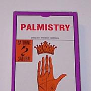 """SOLD Grimaud """"Jeu de la Main"""" (""""Palmistry"""") Fortune Telling Cards, c.1963"""