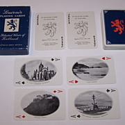 "De La Rue ""52 Selected Views of Scotland"" Playing Cards, for United Cigar & Tobacco"