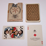 "C. L. Wüst ""House Pattern 3"" Playing Cards, c.1925"