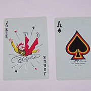 """Brown & Bigelow """"Flirtatious Felicia"""" Pin-Up Playing Cards, For J.T. Slocomb, Fritz Willis"""