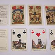 """2 Decks German Mining Skat Playing Cards $20/ea.: (i) Rupert Höll """"Bergmannskarte,"""""""