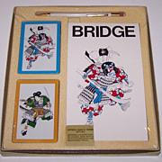 Charles Goren Bridge Set, Ready Rite Pencil, Card Maker Unknown, Score Pad Maker Unknown, c.19