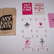 "Karl-Marx-Stadt Stadtische Theater ""My Fair Lady"" Skat Playing Cards, Maker Unknown,"
