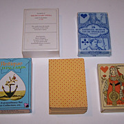 "3 Facsimile Decks Early Cards, $15/ ea.: (i) Margary ""Beggar's Opera""; (ii) Turnhout Mus"