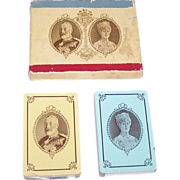 "Double Deck Canadian Playing Card Co. ""Silver Jubilee King George V"" Playing Cards, Commem"