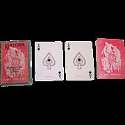 "Arrow ""Kibitzer"" Pinochle Playing Cards, c.1925"