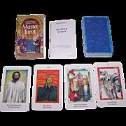 """AG Muller """"Master Tarot"""" Tarot Cards, Mario Montano and Amerigo Folchi Designs, c.1990s"""
