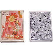 """Grimaud (France Cartes) """"Jeu Dubout"""" Playing Cards, c.1987"""