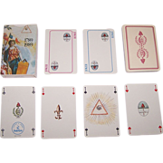 "Heron ""Revolution, 1789-1989"" Playing Cards, French Revolution Bicentennial, c.1989"