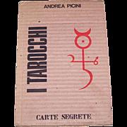 """SALE PENDING Andrea Picini """"I Tarocchi"""" Book, Carte Segrete Publisher, Andrea Picini Desig"""