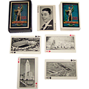 "P.J. Wenger Co. ""Xth Olympiad Playing Cards,"" ""Olympic and Movie Star Souvenir,"" ..."