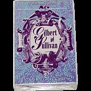 "Carta Mundi ""Gilbert & Sullivan"" Playing Cards, R. Somerville Publisher, Don Jack Designs,"