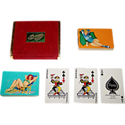 "Double Deck Arrco ""Esquire"" Pin-Up Cards, Al Moore Designs, c.1951"
