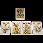 "Wezel & Naumann ""Deutsche Spielkarte"" Playing Cards, T.O. Wegel Publisher, Ludwig ..."
