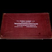 "Wedderburn ""Double Dummy Two-Handed Bridge Whist Board,"" c.1905"