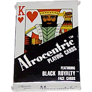"Brown & Bigelow (?) ""Afrocentric"" Playing Cards, Blacks Factor Publisher, c.1985"