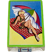 "Arrco ""Beach Blanket"" Pin-Up Playing Cards, c.1940s"