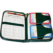 "SOLD ""Norwegian America Line"" Card Set w/Case, Double Deck Piatnik Playing Cards, Canasta"