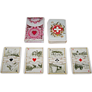 "Dondorf ""Schweitzer Trachten"" (""Swiss Costumes"") Playing Cards, Dondorf No. 174, c. 19"