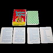 """SOLD E.E. Fairchild """"Gypsy Queen"""" Fortune Telling Cards, c.1946"""