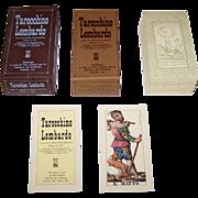 """SOLD Edizioni del Solleone di Vito Arienti """"Tarocchino Lombardo"""", Modern Edition of Gumpen"""