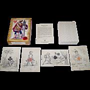 "Il Meneghello ""Giocosa"" (""Playful"") Transformation Playing Cards, Cavallini & Co."