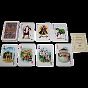 "Bielefelder ""Souvenir"" Playing Cards, c.1950"
