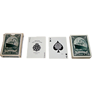"""SOLD Russell Playing Card Co. """"United American Lines – Harriman Line"""" Maritime Playing C"""