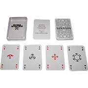 "SOLD ASS ""Syma-System"" Skat Playing Cards, ""Semi-Transformation"" Features, Modular Pip"