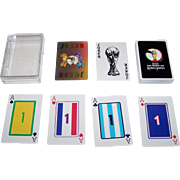 """SOLD Mitsui Gaming Machine Co. """"2002 FIFA World Cup"""" Playing Cards, """"Numbered"""" Jacks,"""