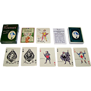 "Carta Mundi ""Kyd's Pickwick Playing Cards,"" The Navarre Society Publisher, c.1982"