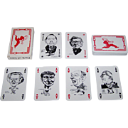 "InterCol ""Playing Politics '92 – Pack of Lies"" Playing Cards, Grant Robertson Designs,"