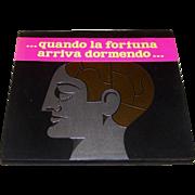 """Umberto Zanasi (ed.), """"Il Sognasoldi –quando la fortuna arriva dormendo"""" Book, Zanasi Ed"""