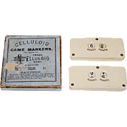 """Pair Celluloid Co. """"Celluloid Game Markers"""", c.1885"""