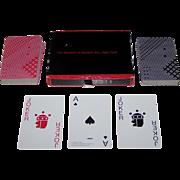 "Double Deck Piatnik ""Takenobu Igarashi"" Playing Cards, Museum of Modern Art Publisher, ..."