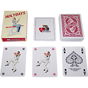 """Modiano """"Holydays"""" Playing Cards, c.1999"""
