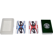 "SOLD ""Starbucks Coffee"" Playing Cards, Maker Unknown, Each Suit Tells a Story"