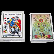 """Grimaud """"Jeu Images d'Epinal"""" Playing Cards, c.1991"""