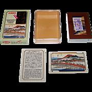 "SOLD Angel ""Hiroshige"" Playing Cards, ""The 53 Stations of the Tokaido,"" Utagawa Hirosh"