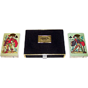 "Double Deck USPC ""Lancelot and Hogier"" Playing Cards [1440], c. 1965-1983"