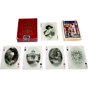 "USPC ""Virginia Souvenir Playing Cards,"" Old Dominion Paper Company Publisher, Jamestown Ex"