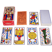 """Grimaud """"Tarot of Marseilles"""" Tarot Cards, c.1969"""